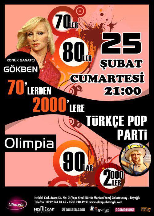 Gökben'le 70'lerden 2000'lere Türkçe PopParti