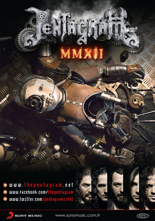 """25. yılında Pentagram'dan yeni albüm: """"MMXII"""""""