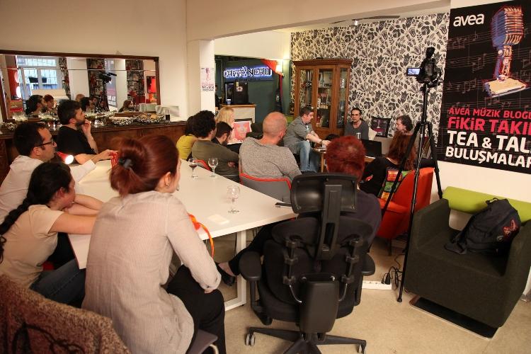 """Avea Müzik Bloggerları Fikir Takımı-7.Buluşma: """"Türk Rock MüzikTarihi"""""""