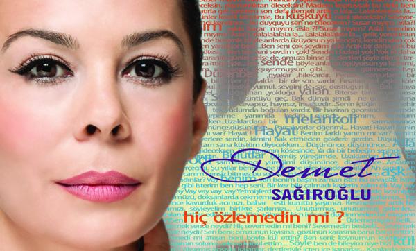 """Demet Sağıroğlu'dan yeni albüm: """"Hiç Özlemedinmi?"""""""